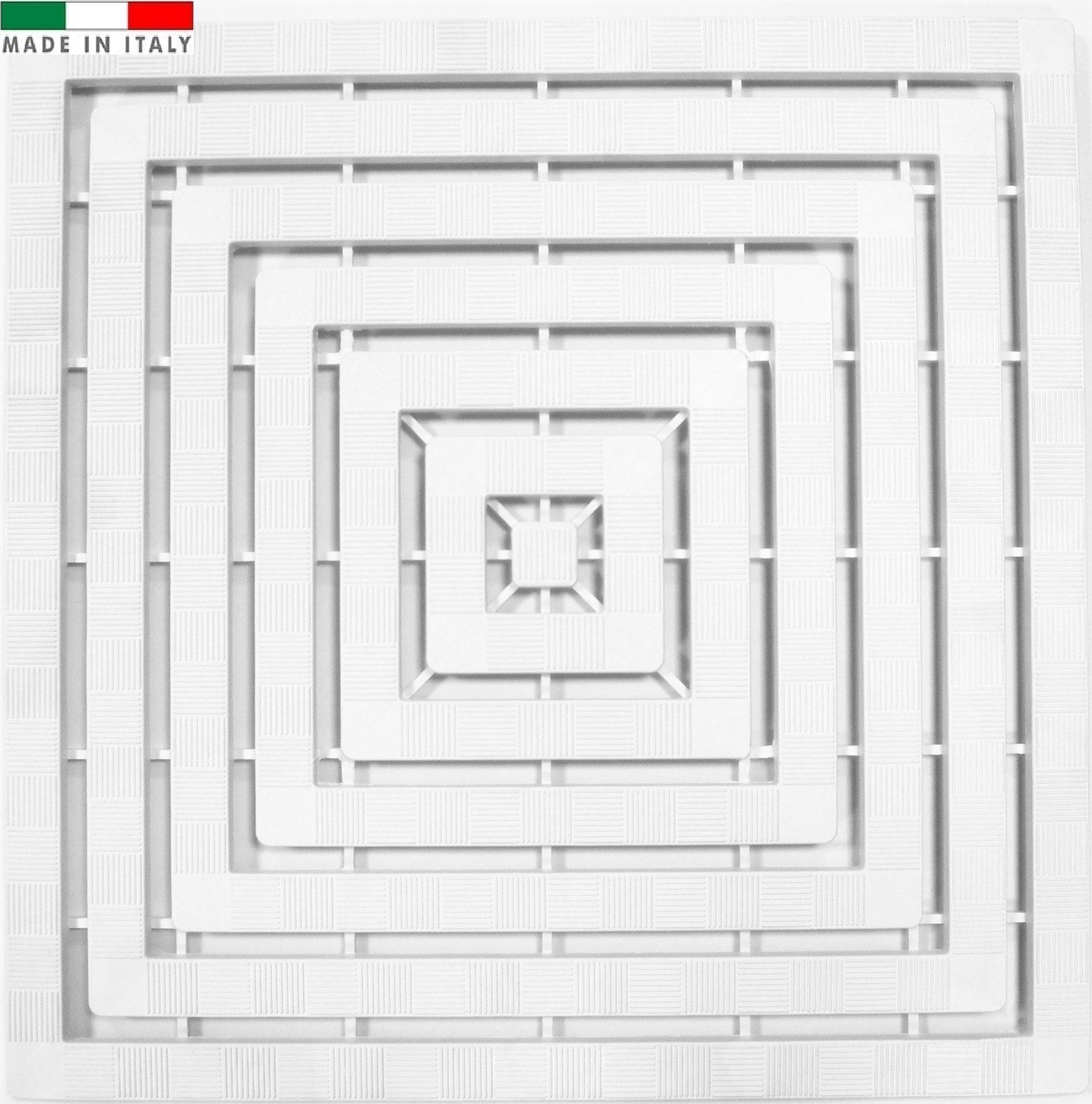 Pedana Per Doccia Plastica.Cenni Pedana Doccia 60 X 60 Plastica Cenni Ettore Figlio